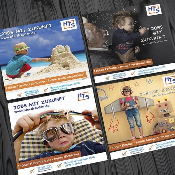 HTS Anzeigenkampagne für Stellenangebote