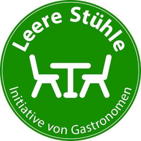 Logo Aktion Leere Stühle