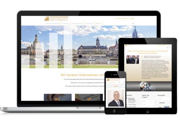 Relaunch Website SAX