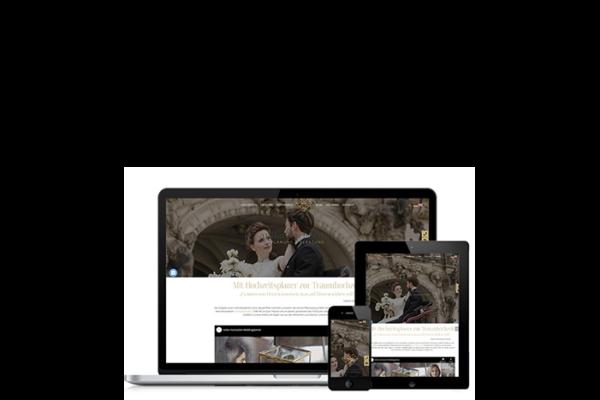 Webdesign Relaunch Hochzeitsplaner