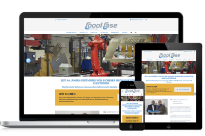 Relaunch Webseite CooolCase